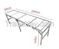 beer pong table outdoor table Folding Aluminum Tables