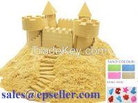 500g/Bag Packing, Safe Kids Toys Kinetic Sand, Play Sand