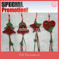 2015 New fashion felt wholesale christmas decorations