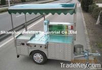 JIEXIAN 2012 mobile hot dog cart