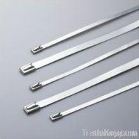 Stainless steel lock steel ball ties