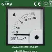 Analog Panel Meter , Taiwan technology, TOP quality BE-96 AC 100/5A