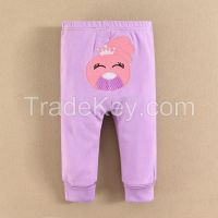 cutetime 2015 baby clothes 100% cotton cartoon baby PP pants