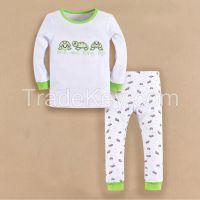 cutetime baby clothing 100% cotton pajamas sleepwear boy
