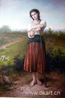 Sell handmade painting (canvas Oil painting-people)