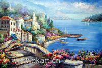 LandScape (100% handmade oil painting on canvas)