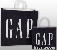 GAP kraft shopping bags