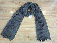 long knitting women's scarf