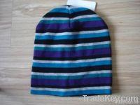 stripe beanie wool beanie