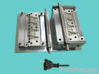 injection mould for powercord mould