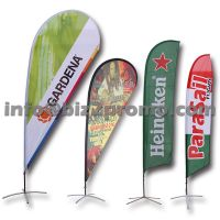 Beach flag, feather flag, flying banner, teardrop flag banner