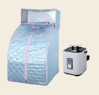 foldable portable steam sauna, with headcover