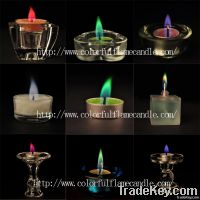 2013 party decoration colorful flame wedding candle