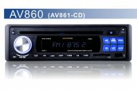 AV860 AM/FM 30 Stations 1DIN Car DVD Player, Support USB/SD, EQ Function