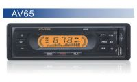 AV65 12V Small Power Car MP3 Player  Support FM/MP3/USB/SD 18 Stations, RCA Output