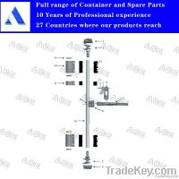 container door locking device