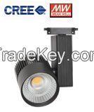 45W 3 phase CREE COB LED Track Light