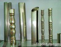 Stainless Steel Embossed Tube Pipe
