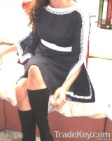 Trumpet Sleeve Tunic Dress- Latishia Style