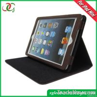 stand leather cover for ipad mini