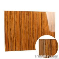 Wood Veneer with baking varnish