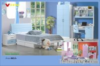 MDF Panels kids Bedroom Set