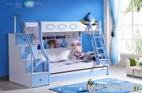MDF Panels Children Bunk Bed