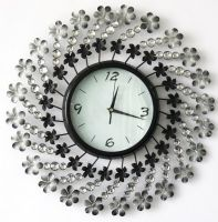 Wholesale Large Size Home Decor Metal Wall Clock