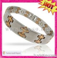fashion and health magnetic stainless steel bracelet