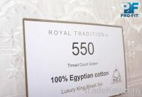 100% Egyptian Cotton Bed sets sheets pillow cases