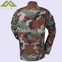 Army woodland camouflage jacket