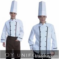 100% Cotton Chef Uniforms with Chef Coats + Pants + Aprons