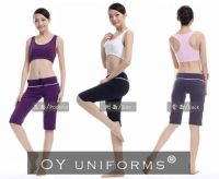 Trendy New Yoga Wear Fitness Costumes with Good Quality