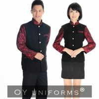 Wholesale Restaurant & Hotel Waitress Work Staff Uniforms Long Sleeves