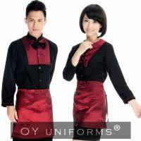 Wholesale Restaurant & Hotel Waitress Work Staff Uniforms Long Sleeves