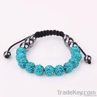 Shamballa Fashion Crystal Bracelets, Bangles and Earrings