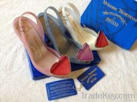 Women Jelly Hight Heels Pretty Heart Plastic Shoes