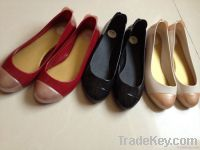 Women Jelly Plastic Rain Flat Pretty Casual Shoes