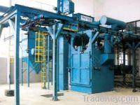 Q38 double route hanger chains type shot blasting machine/Q48 single r