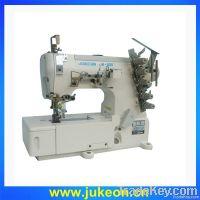 High speed three-needle covering stitch machine