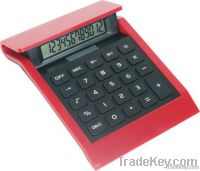 red colourful big size desktop calculator
