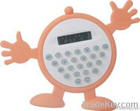 silicone cartooon calculator