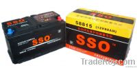 58815MF 12v 88ah maintenance free automotive battery