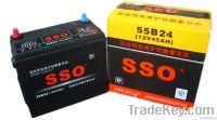 55B24 12v 45ah maintenance free car storage battery