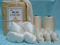 140Nm/2 100% Spun silk yarn for weaving/knitting