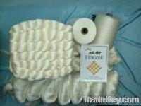Silk/Wool blended yarn