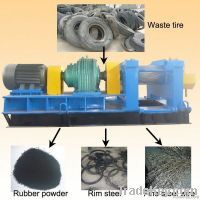 Rubber processing plant
