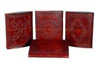 leather handmade diary's