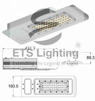 LED Streetlight  60W ET-60-A12  12V DC for Solar use