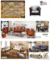 natural rattan and wood indoor furniture